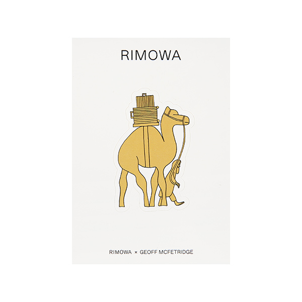 리모와 CAMEL 낙타 50900210 리모와 정품 스티커
