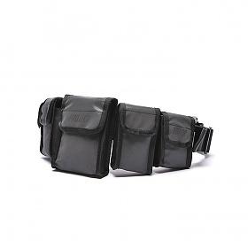 [NTFP] Give out a Flash 5Pocket bag (BLACK) NFP1806015BK 낫파운드프로젝트 엔티에프피 리플렉티브 스카치 힙색 크로스백
