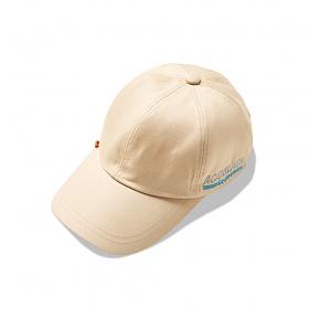 [에시드블랙]WAVE BALL CAP (BEIGE) 볼캡 야구모자