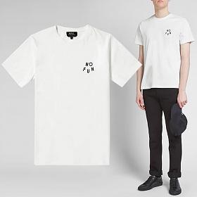 19S/S NOFUN 로고 프린트 티셔츠 COZAC H26748 AAB