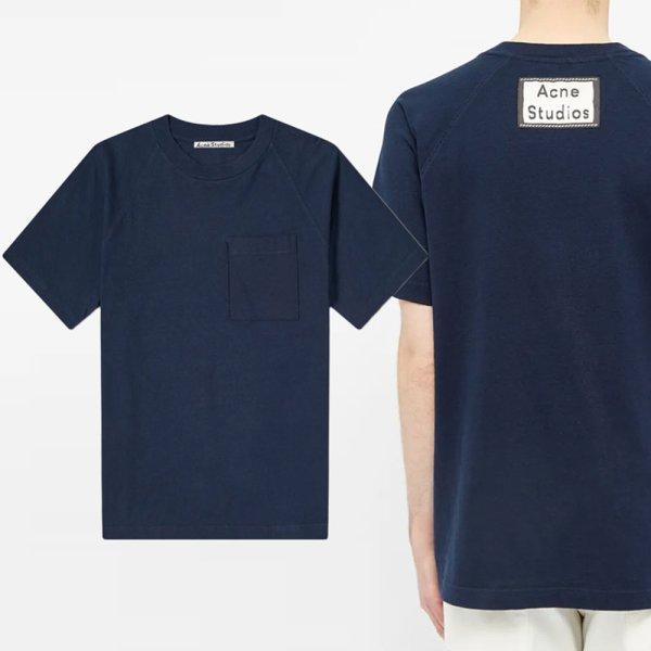 20SS 백 로고 패치 포켓 티셔츠 BL0160 885