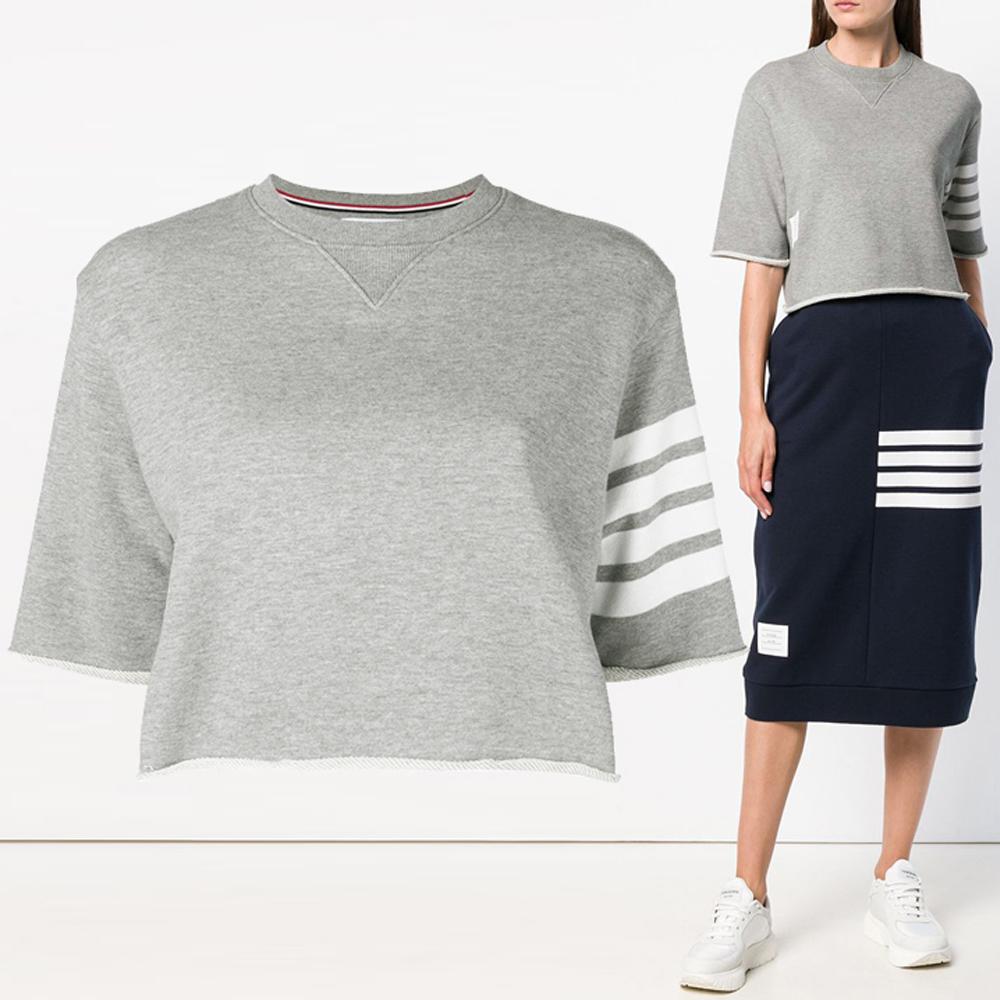 19S/S 여성 사선암밴드크롭 티셔츠 FJS027A 00535 055