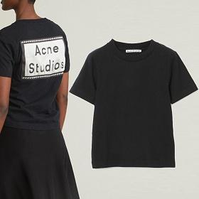 20SS 백 로고 패치 티셔츠 블랙 AL0111 900