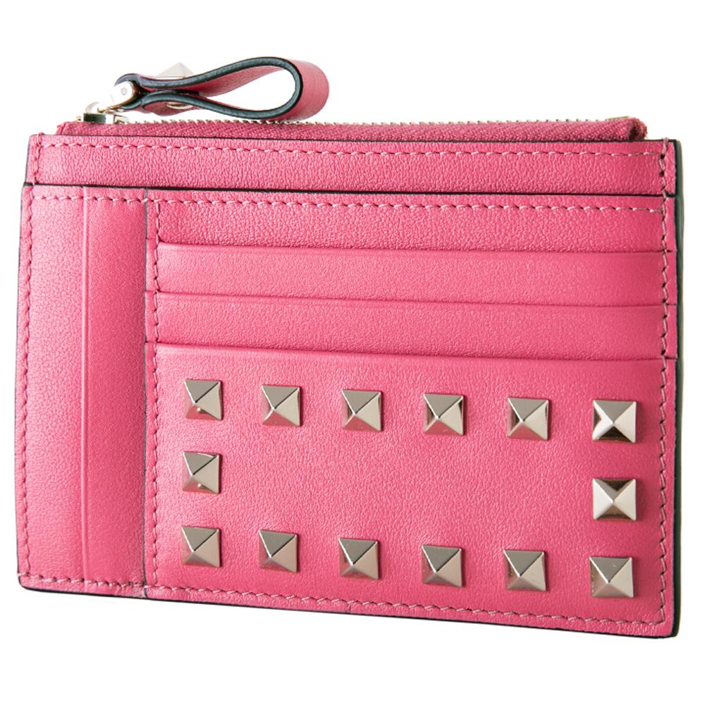 18S/S 락스터드 동전지갑 핑크 PW2P0673 BOL 0HO
