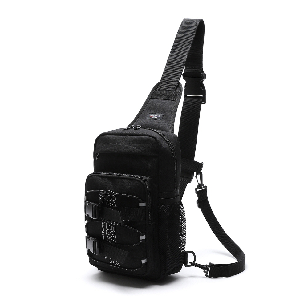 [로아드로아] RDR 3D MATRIX SLING BAG (BLACK) 슬링백