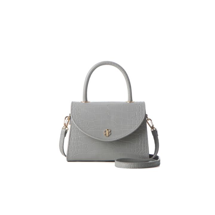 [백투베이직스]BAG TO BASICS - leah(light grey) 토트백 크로스백 숄더백 여성가방