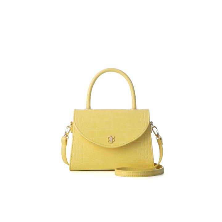 [백투베이직스]BAG TO BASICS - leah(lemon cream) 토트백 크로스백 숄더백 여성가방