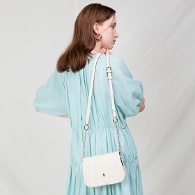 [백투베이직스]BAG TO BASICS - mori(ivory) 체인백 크로스백 숄더백 여성가방