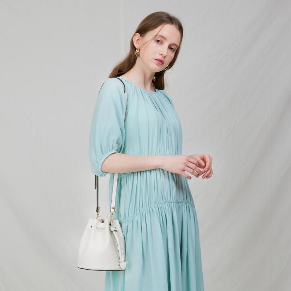 [백투베이직스]BAG TO BASICS - lottie(white) 버킷백 크로스백 숄더백 토트백 여성가방