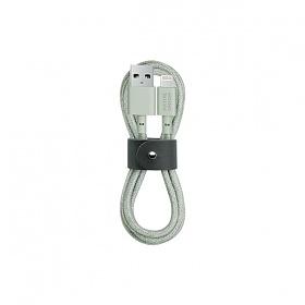 BELT CABLE SAGE (USB-A TO LIGHTNING)_BELT-L-GRN-2-NP