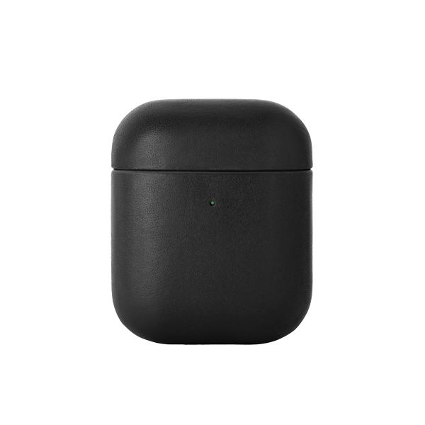 네이티브유니온 나파가죽 에어팟 케이스 블랙 에어팟 1 & 2세대_APCSE-LTHR-BLK-AP
