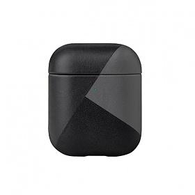 네이티브유니온 나파가죽 에어팟 케이스 블랙 에어팟 1 & 2세대_APCSE-MARQ-BLK