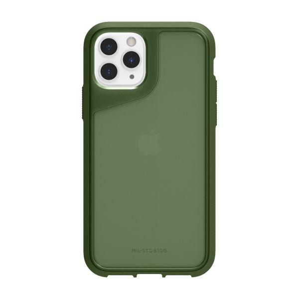 그리핀 서바이버 스트롱 미국방부 표준(MIL-STD810G)인증 3.0m 낙하충격 보호아이폰 11프로 케이스 그린