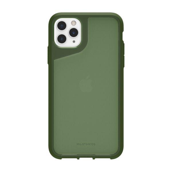 그리핀 서바이버 스트롱 미국방부 표준(MIL-STD810G)인증 3.0m 낙하충격 보호아이폰 11프로맥스 케이스 그린