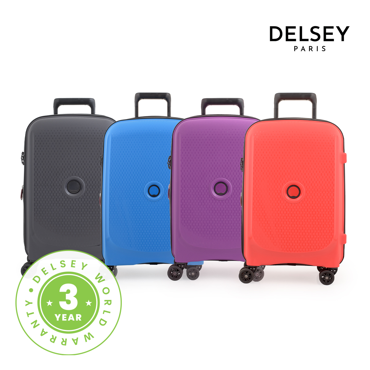 [델시]DELSEY - 벨몽트 플러스 55/20형 기내용 여행용캐리어 하드캐리어