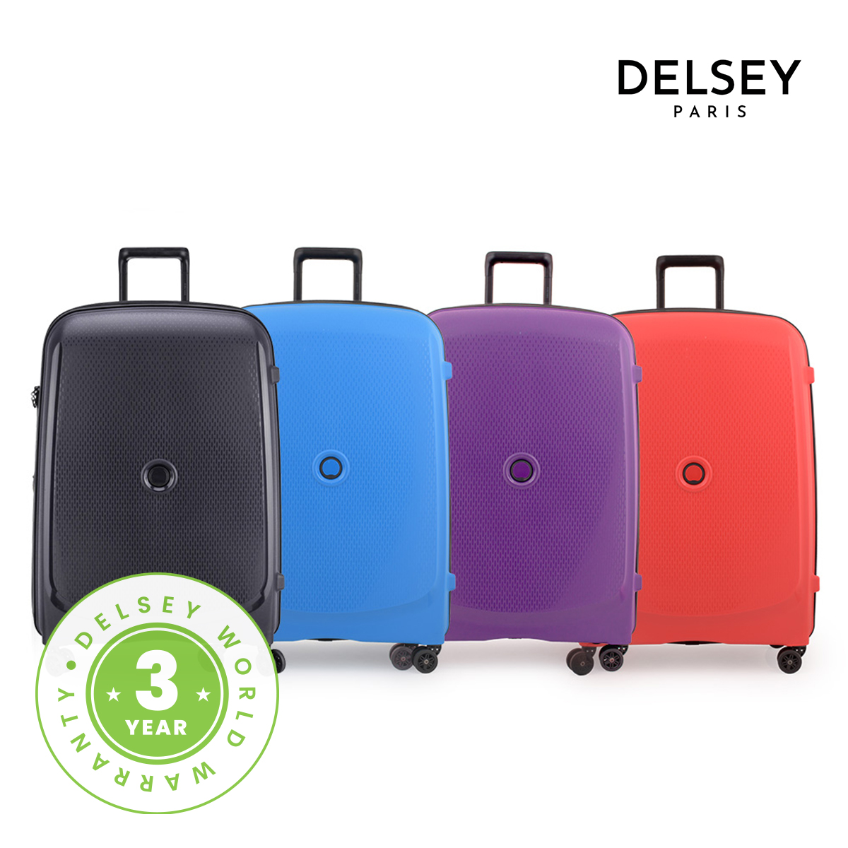 [델시]DELSEY - 벨몽트 플러스 76/28형 대형 여행용캐리어 하드캐리어