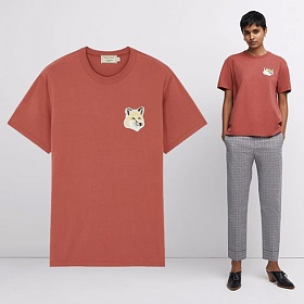 20SS 여성 빅 파스텔 폭스 티셔츠 EW00140KJ0008 DPI