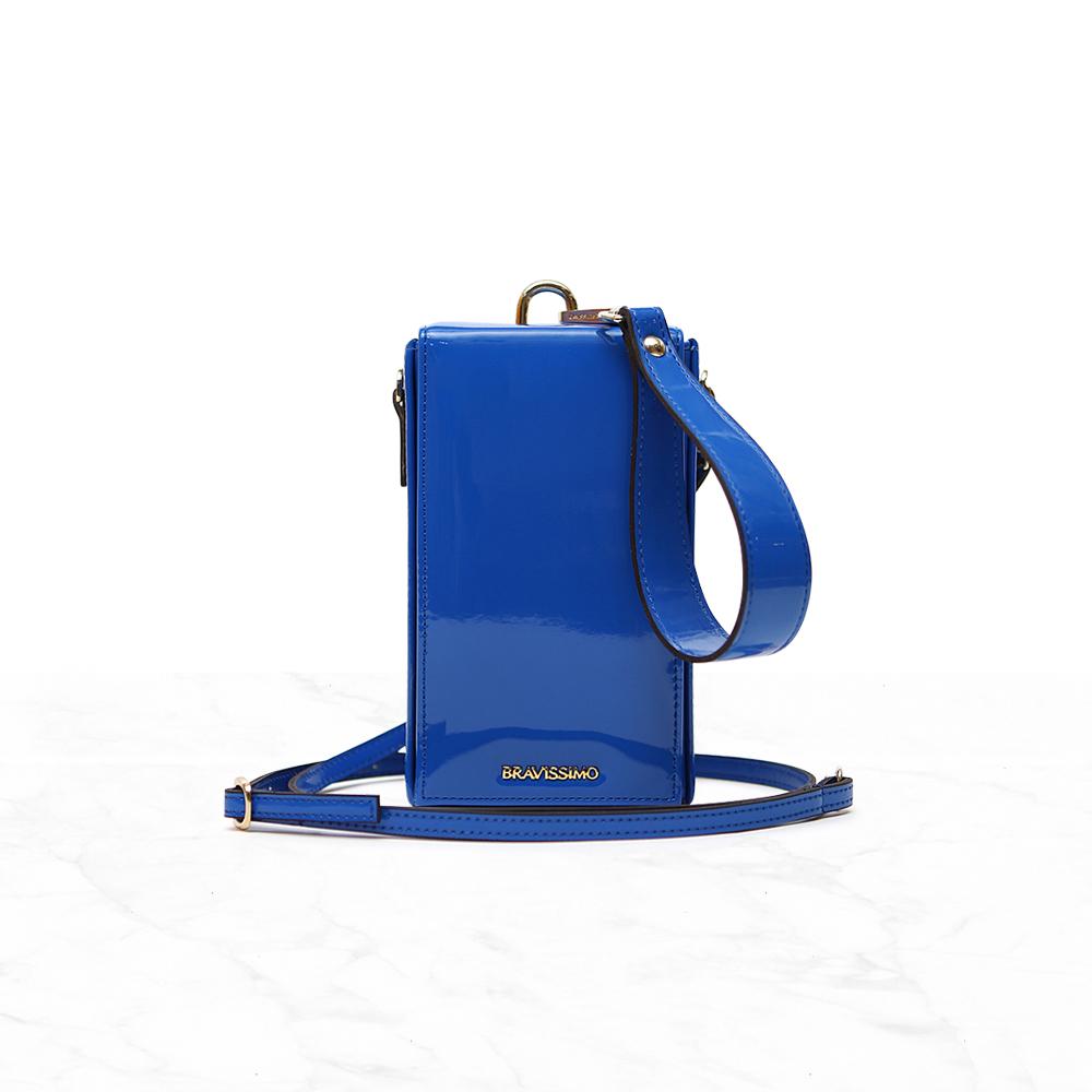 브라비시모 블럭 오션블루 숄더백 여성가방