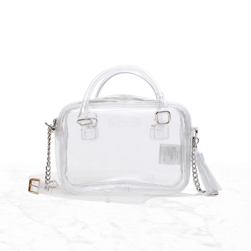 [브라비시모] 벨라 (Bella) - Crystal 토트백 크로스백 숄더백 pvc백 여름가방 여성가방