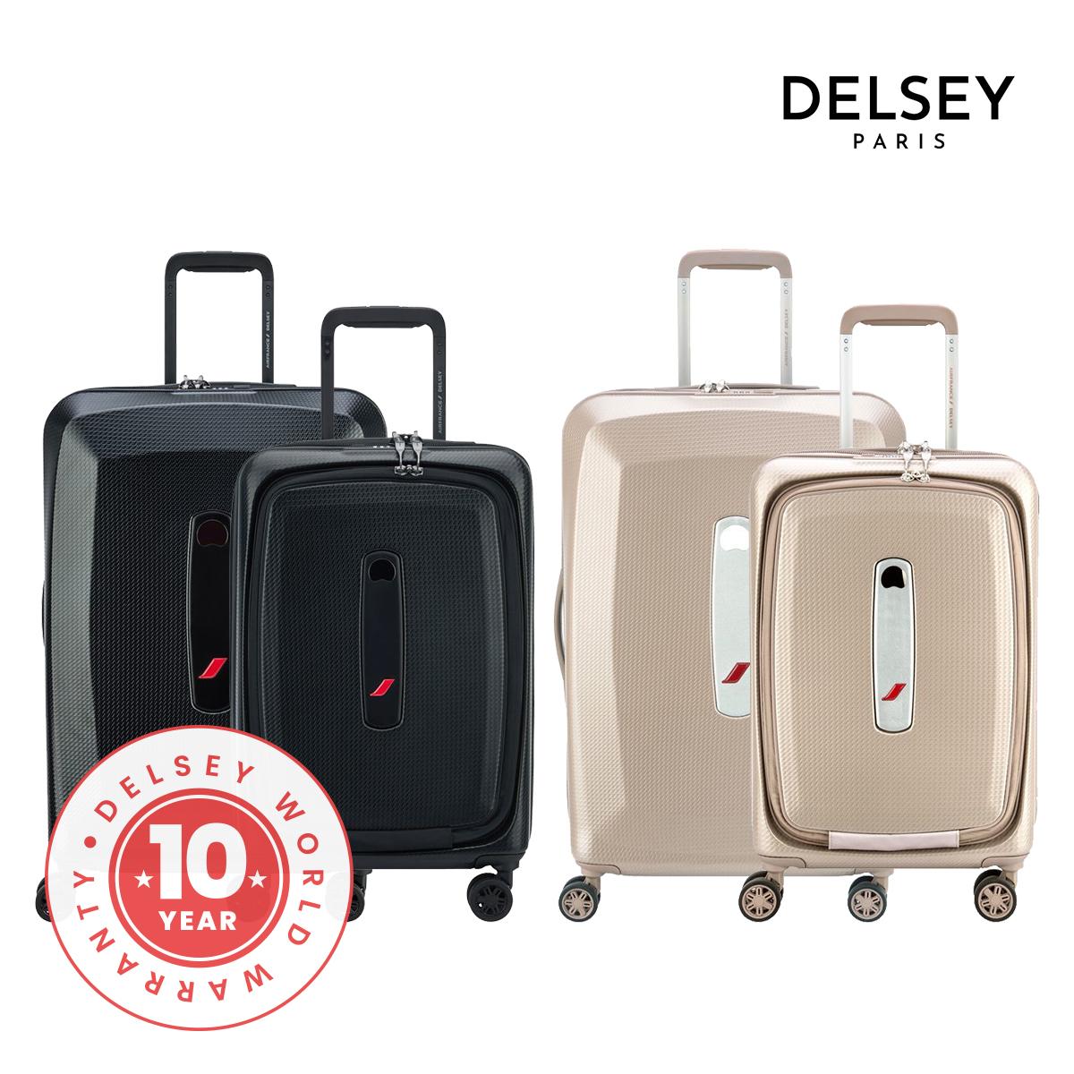 [델시]DELSEY - 에어프랑스 프리미엄 55+68/20+25 2종세트 여행용캐리어 에어프랑스 제휴 하드