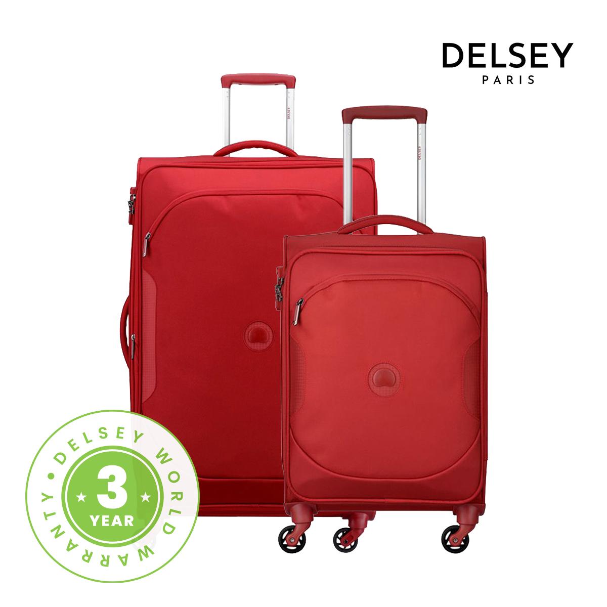 [델시]DELSEY - 유라이트 클래식 55+79/20+30 2종세트 여행용캐리어 소프트