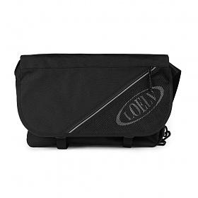 [로엘브]LOELV Oblique Logo Messenger Bag 스카치 메쉬 메신저백 메신져