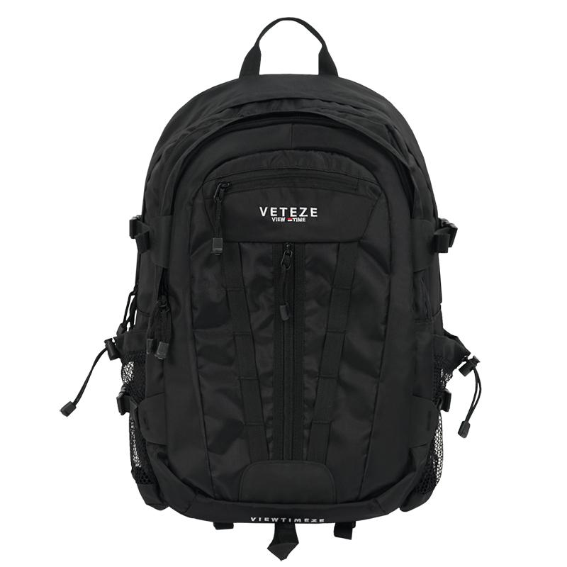 [베테제] Multi Cross Backpack (black) 2way 멀티 크로스 슬링백 백팩 (블랙)