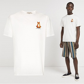 20SS 로터스 폭스 프린팅 티셔츠 EU00151KJ0008 LT