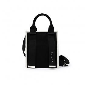 [브라비시모] 포니 (Pony) - 블랙 토트백 크로스백 숄더백 여름가방 여성가방