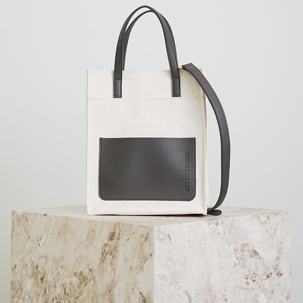 [키치스튜디오]LIBRO POCKET BAG (리브로 포켓 백) (BG20020) 여성가방