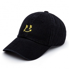 BBD Smile Logo Denim Cap (Black)