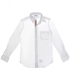 [톰브라운]20FW MWL010E 00139 100 화이트 옥스포드 클래식 남성 셔츠