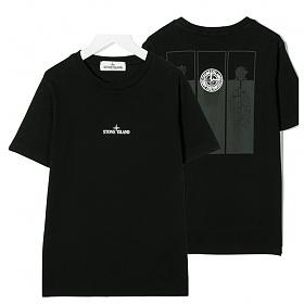 20FW 여성 백로고프린팅 티셔츠 블랙 731621054 V0029