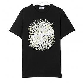 20FW 여성 루트 로고 프린팅 티셔츠 731621057 V0029