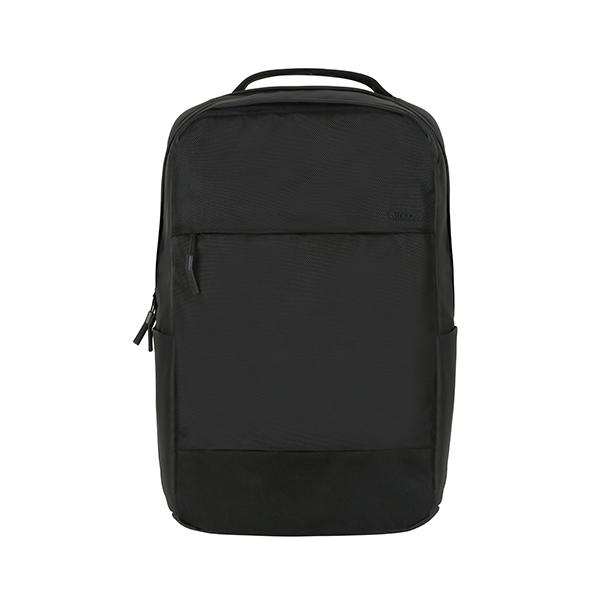 City Compact Backpack w/1680D - Black INBP100623-BLK