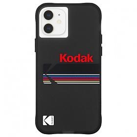 [케이스메이트]Case-Mate x KODAK - Matte Black + Shiny Black Logo 아이폰 12 미니