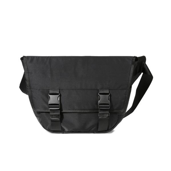 제너 V2 BUCKLE NYLON MESSENGER BAG[BLACK] 메신저백