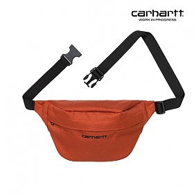 [칼하트WIP] CARHARTT WIP - Payton Hip Bag (Cinnamon / Black) 힙색