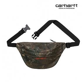 [칼하트WIP] CARHARTT WIP - Payton Hip Bag (Camo Combi / Safety Orange) 힙색