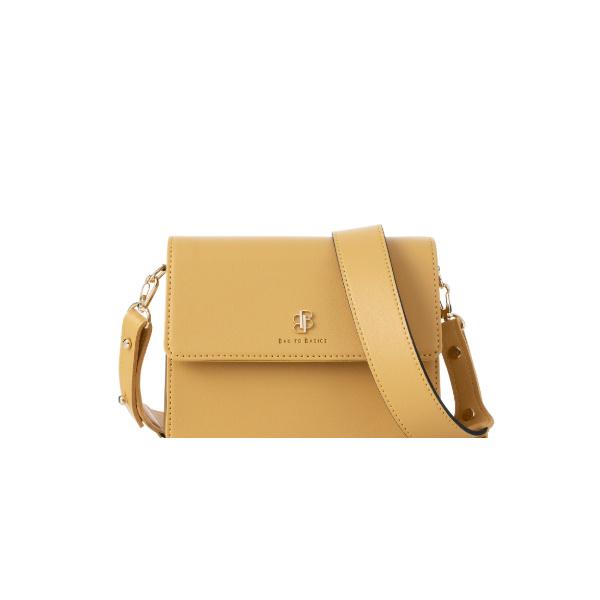[백투베이직스]BAG TO BASICS - NORA 노라 크로스백 - 머스타드 여성가방