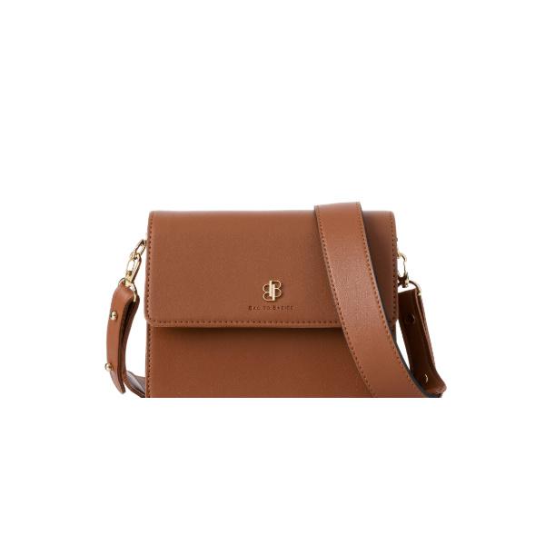 [백투베이직스]BAG TO BASICS - NORA 노라 크로스백 - 카멜 여성가방