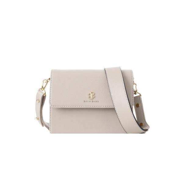 [백투베이직스]BAG TO BASICS - NORA 노라 크로스백 - 라이트그레이 여성가방
