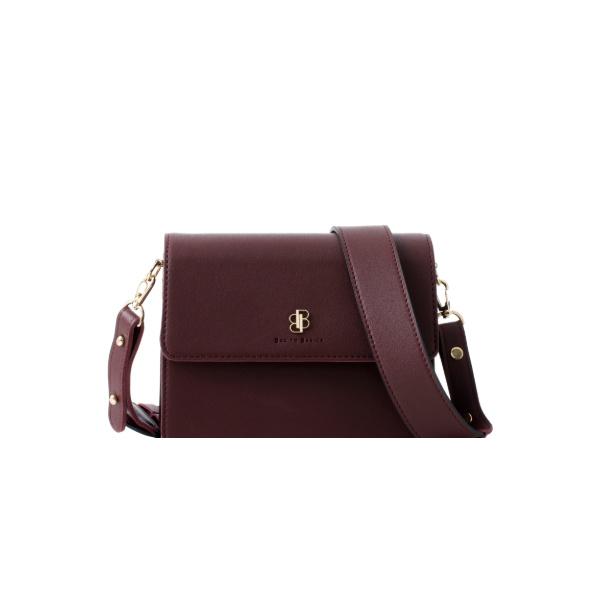 [백투베이직스]BAG TO BASICS - NORA 노라 크로스백 - 버건디 여성가방