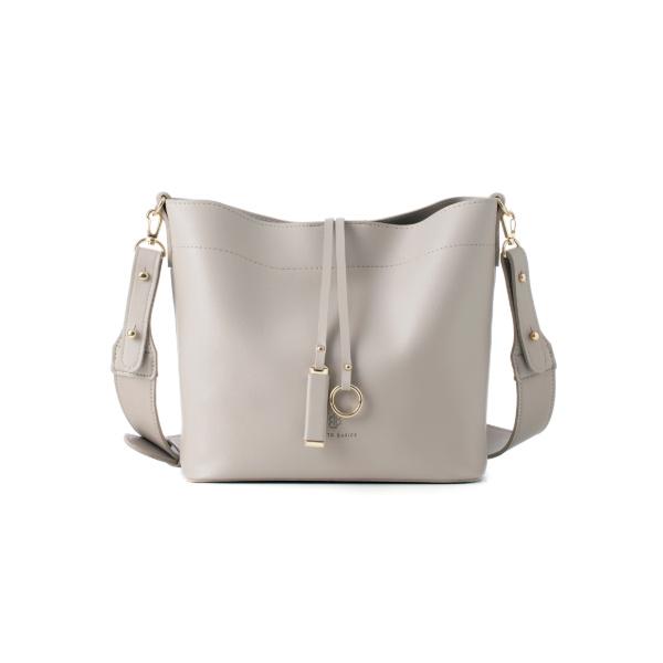 [백투베이직스]BAG TO BASICS - MANOS 마노스 버킷백 -  라이트 그레이 여성가방