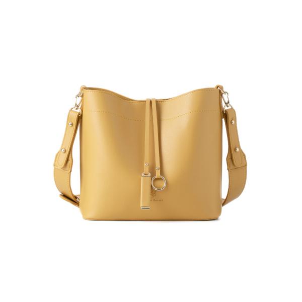 [백투베이직스]BAG TO BASICS - MANOS 마노스 버킷백 -  머스타드 여성가방
