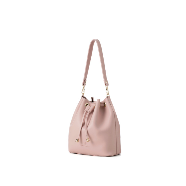 [백투베이직스]BAG TO BASICS - JURI 쥬리 버킷백 - 핑크 여성가방