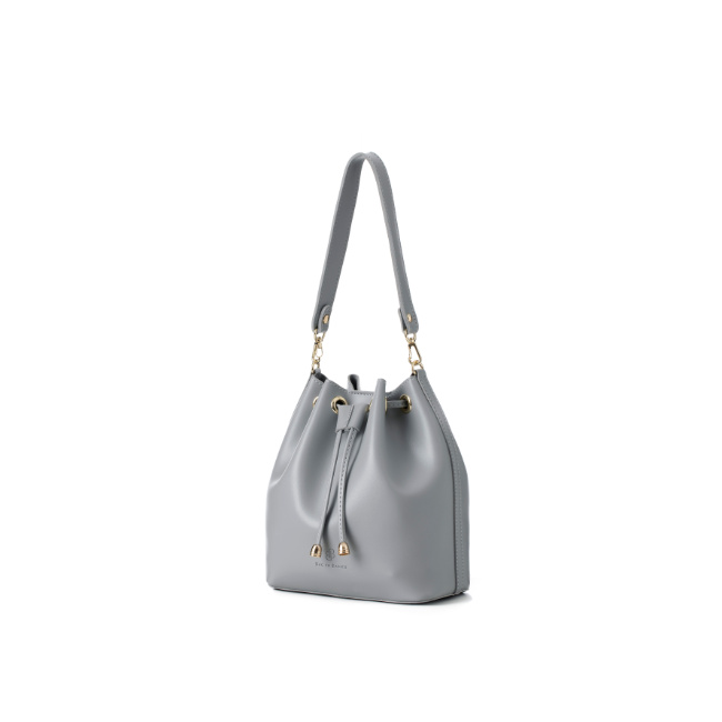[백투베이직스]BAG TO BASICS - JURI 쥬리 버킷백 - 라이트그레이 여성가방