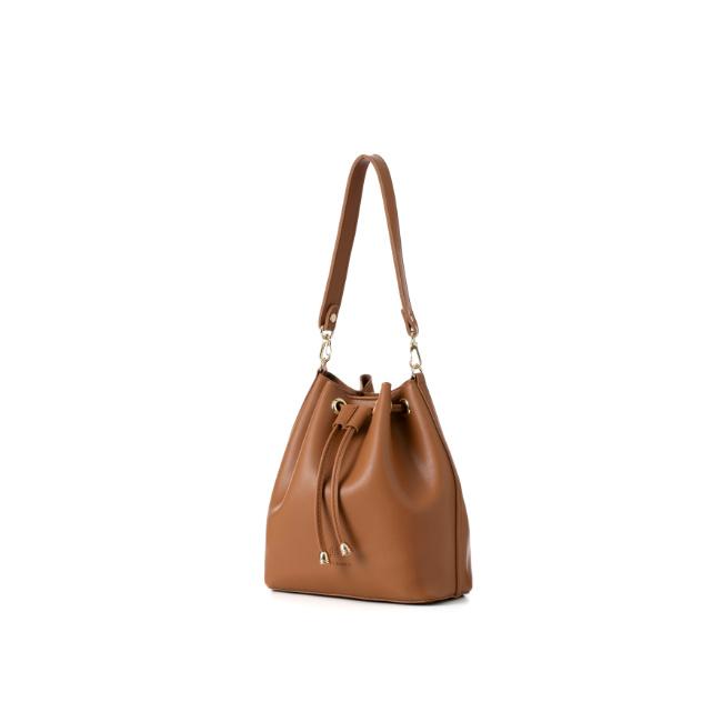 [백투베이직스]BAG TO BASICS - JURI 쥬리 버킷백 - 카멜 여성가방