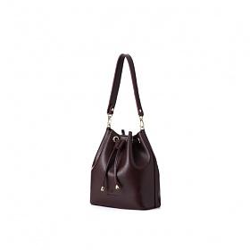 [백투베이직스]BAG TO BASICS - JURI 쥬리 버킷백 - 버건디 여성가방