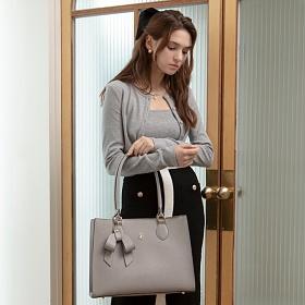 [백투베이직스]BAG TO BASICS - REINA 레이나 쇼퍼백 숄더백 - 그레이 여성가방